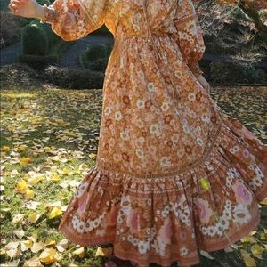 Spell & the Gypsy ANNE MAXI SKIRT size Medium